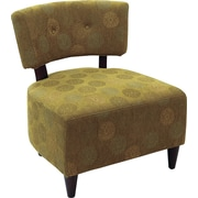 Office Star Ave Six® Fabric Boulevard Chair, Blossom Green