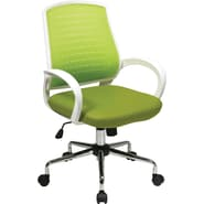 Office Star OSP Designs Mid Back Rio Office Chair, Green