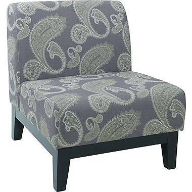 Office Star Ave Six® Fabric Glen Chair, Sweden Amethyst