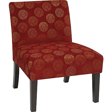 Office Star Ave Six® Fabric Laguna Chair, Blossom Wine