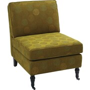 Office Star Ave Six® Fabric Madrid Chair, Blossom Green