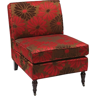Office Star Ave Six® Fabric Madrid Chair, Groovy Red