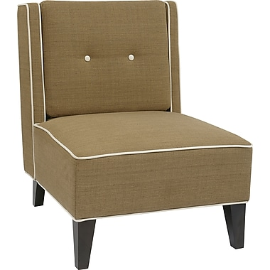 Office Star Ave Six® Fabric Marina Chair, Seaweed