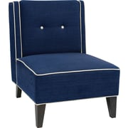Office Star Ave Six® Fabric Marina Chair, Indigo