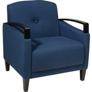 Office Star Ave Six® Fabric Main Street Chair, Indigo (MST51-W17)