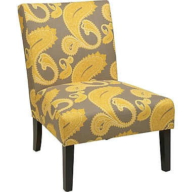Office Star Ave Six® Fabric Victoria Chair, Sweden Dijon