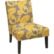 Office Star Ave Six® Fabric Victoria Chair, Sweden Dijon
