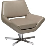 Office Star Ave Six® Faux Leather Yield 31 Wide Chair, Smoke