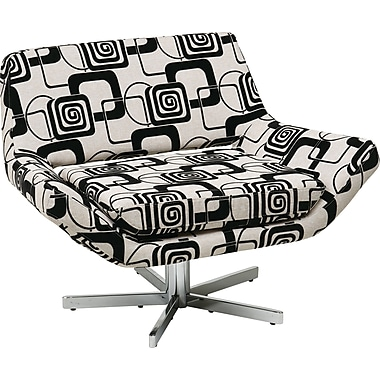 Office Star Ave Six® Fabric Yield 40in. Wide Chair, Lunar Pattern