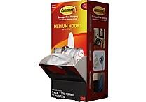 Command™ Medium Hooks Cabinet Pack, White, 50/Pack