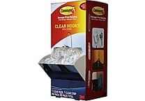 Command Hooks, Clear, 50/Pack