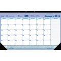 2014 Brownline Monthly Desk Pad, 17-3/4in.x 10-7/8in.