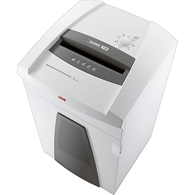 HSM SECURIO P36S 49-Sheet Strip-Cut Commercial Shredder