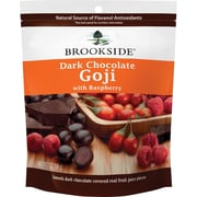 Brookside® Dark Chocolate with Goji Raspberry, 7 oz, 12 Bags/Case