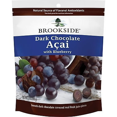 Brookside Dark Chocolate with Acai Blueberry, 7 oz, 12 Bags/Case