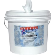 Gym Wipes® Antibacterial Disinfectant Wipes w/ Self Dispensing Bucket, 700 Wipes Bucket, 2/Carton