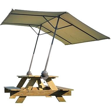 ShelterLogic ShadeLogic Quick Clamp Canopy, Tilt Mount, Expandable to 10'