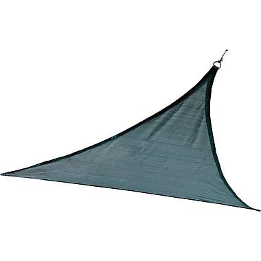 ShelterLogic 12' Triangle Shade Sail - 230 gsm, Sea
