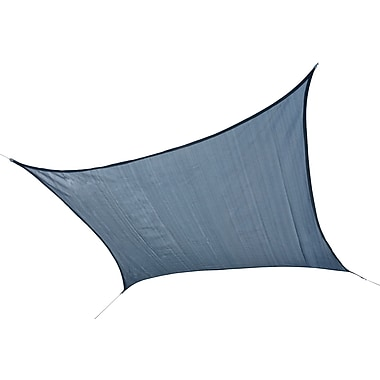 ShelterLogic 12' Square Shade Sail - 230 gsm, Sea