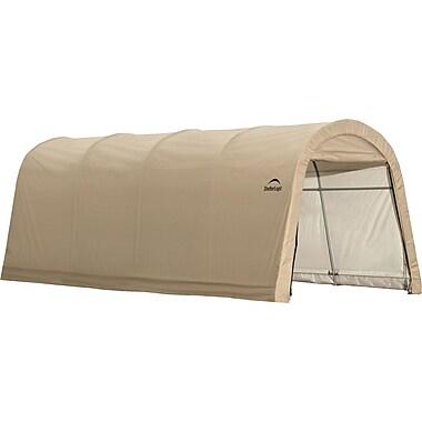 ShelterLogic 10' x 20' x 8' Round Style Auto Shelter, 1 3/8