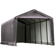 ShelterLogic 12' x 25' x 11' ShelterTube™ Storage Shelter, Gray Cover