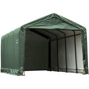 ShelterLogic 12' x 20' x 11' ShelterTube™ Storage Shelter, Green Cover
