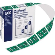 Oxford® Datafile Compatible Year Labels