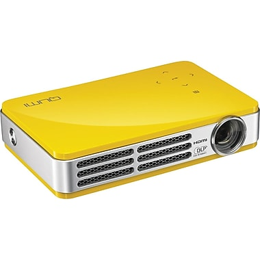 Vivitek Qumi Q5 HD720p LED Pocket Projector, Yellow