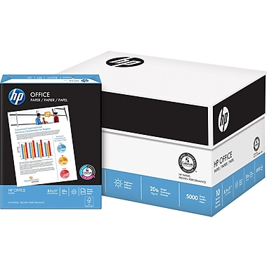 HP® Office Copy Paper, 20 lb., 8-1/2