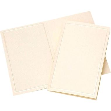 Gartner Studios® - Papier pour événements, 5 1/2 po x 8 1/2 po, ivoire nacré, paq./50