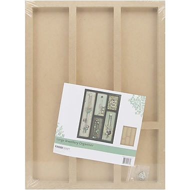 Kaisercraft Beyond The Page MDF Large Jewelry Organizer, 16.25in. x 22in. x 0.75in.