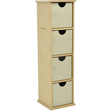 Kaisercraft Beyond The Page MDF Tall Drawer, 4.5in. x 16.5in. x 4.75in.