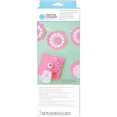 Martha Stewart Circle Border Punch Starter Set, Eyelet Doily