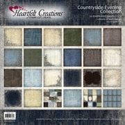 "Heartfelt Creations Double-Sided Paper Collection, 12"" x 12"", Countryside Evening"