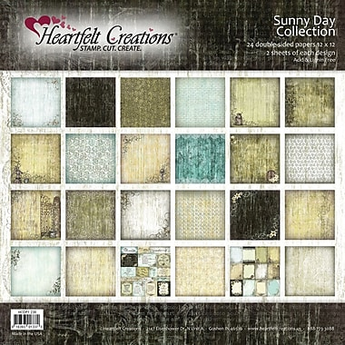 Heartfelt Creations Double-Sided Paper Collection, 12in. x 12in., Sunny Day