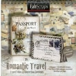 Fabscraps Romantic Travel Folios & Envelopes Die-Cut Work Book 8in. x 8in.
