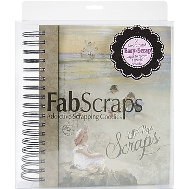 Fabscraps Little Peeps Scraps Ring Bound Book, 7in. x 10in.