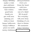 Stampers Anonymous Tim Holtz Large Cling Rubber Stamp Set, Simple Sayings