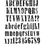 Stampers Anonymous Tim Holtz Large Cling Rubber Stamp