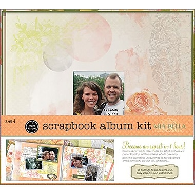 SEI 1 Hour Album Scrapbook Kit, 12in. x 12in., Mia Bella