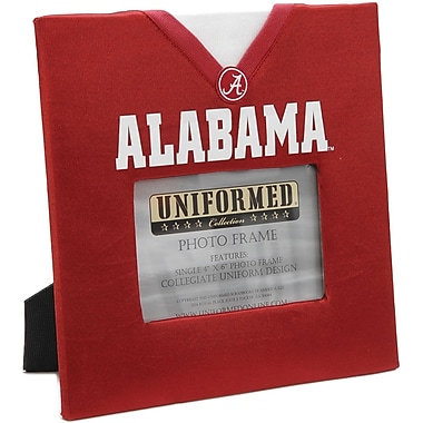Uniformed Scrapbooks Collegiate Frame 10in. x 10in., Photo Window 6in. x 4in., University Of Alabama