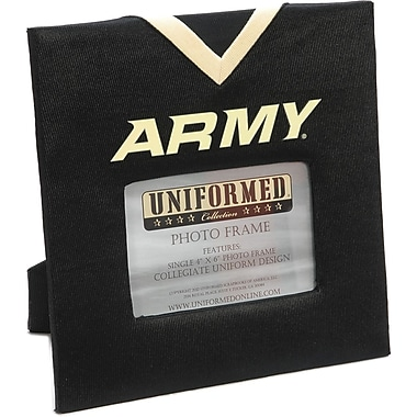 Uniformed Scrapbooks Collegiate Frame 10in. x 10in., Photo Window 6in. x 4in., Army