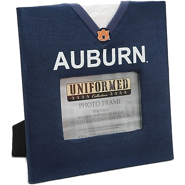 Uniformed Scrapbooks Collegiate Frame 10in. x 10in., Photo Window 6in. x 4in., Auburn University
