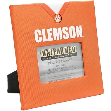 Uniformed Scrapbooks Collegiate Frame 10in. x 10in., Photo Window 6in. x 4in., Clemson University