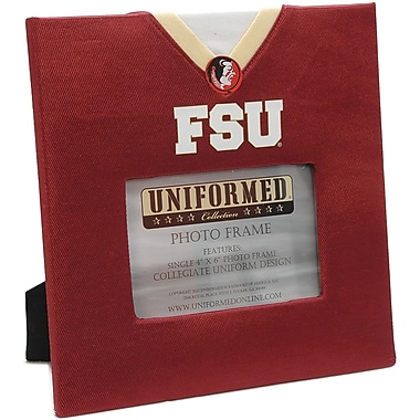 Uniformed Scrapbooks Collegiate Frame 10in. x 10in., Photo Window 6in. x 4in., Florida State