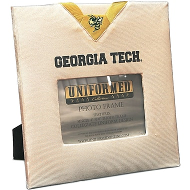 Uniformed Scrapbooks Collegiate Frame 10in. x 10in., Photo Window 6in. x 4in., Georgia Tech