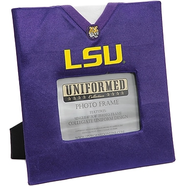 Uniformed Scrapbooks Collegiate Frame 10in. x 10in., Photo Window 6in. x 4in., LSU