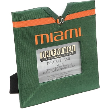 Uniformed Scrapbooks Collegiate Frame 10in. x 10in., Photo Window 6in. x 4in., University Of Miami
