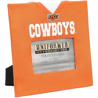 Uniformed Scrapbooks Collegiate Frame 10in. x 10in., Photo Window 6in. x 4in., Oklahoma State