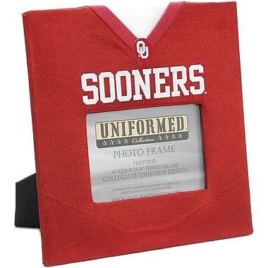 Uniformed Scrapbooks Collegiate Frame 10in. x 10in., Photo Window 6in. x 4in., University of Oklahoma